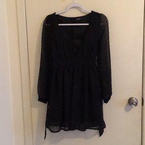Black Nasty Gal Party Dress